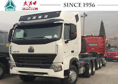 High Roof HOWO Tractor Truck 10 Wheeler For Long Distance Cargo Transportation