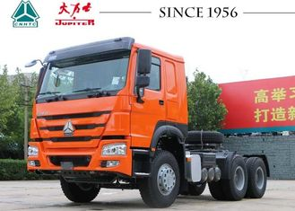 HOWO 6X4 Tractor Truck With 420 Hp Euro II Engine RHD For Africa