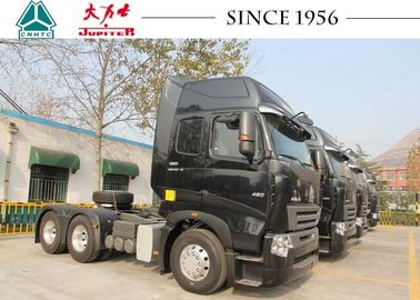 A7 6X4 10 Wheeler HOWO Tractor Truck Perfect Suspension Systems Large Load Capacity