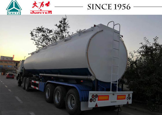 Tri Axle Fuel Road Tanker Trailer With Billing Function,Flow Meter,PTO And Pump